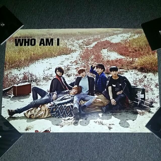 Free Postage-B1A4 Folded Poster
