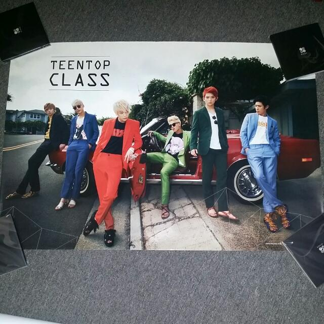 Free Postage-Teentop Folded Poster