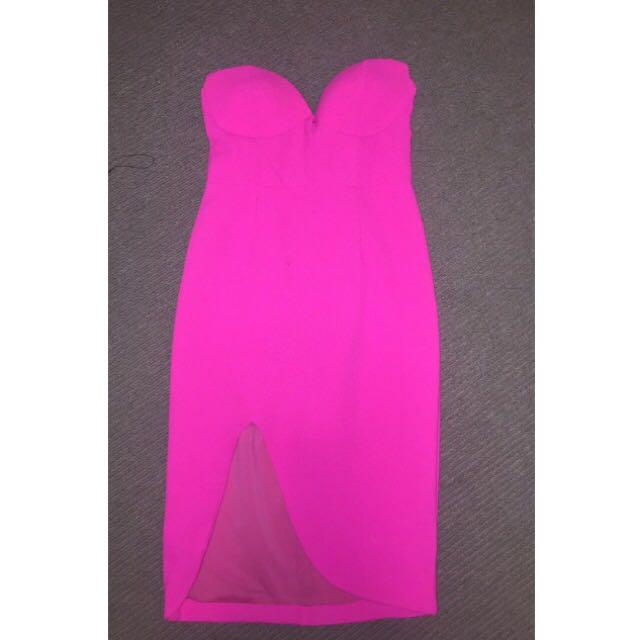 Highlight pink Dress