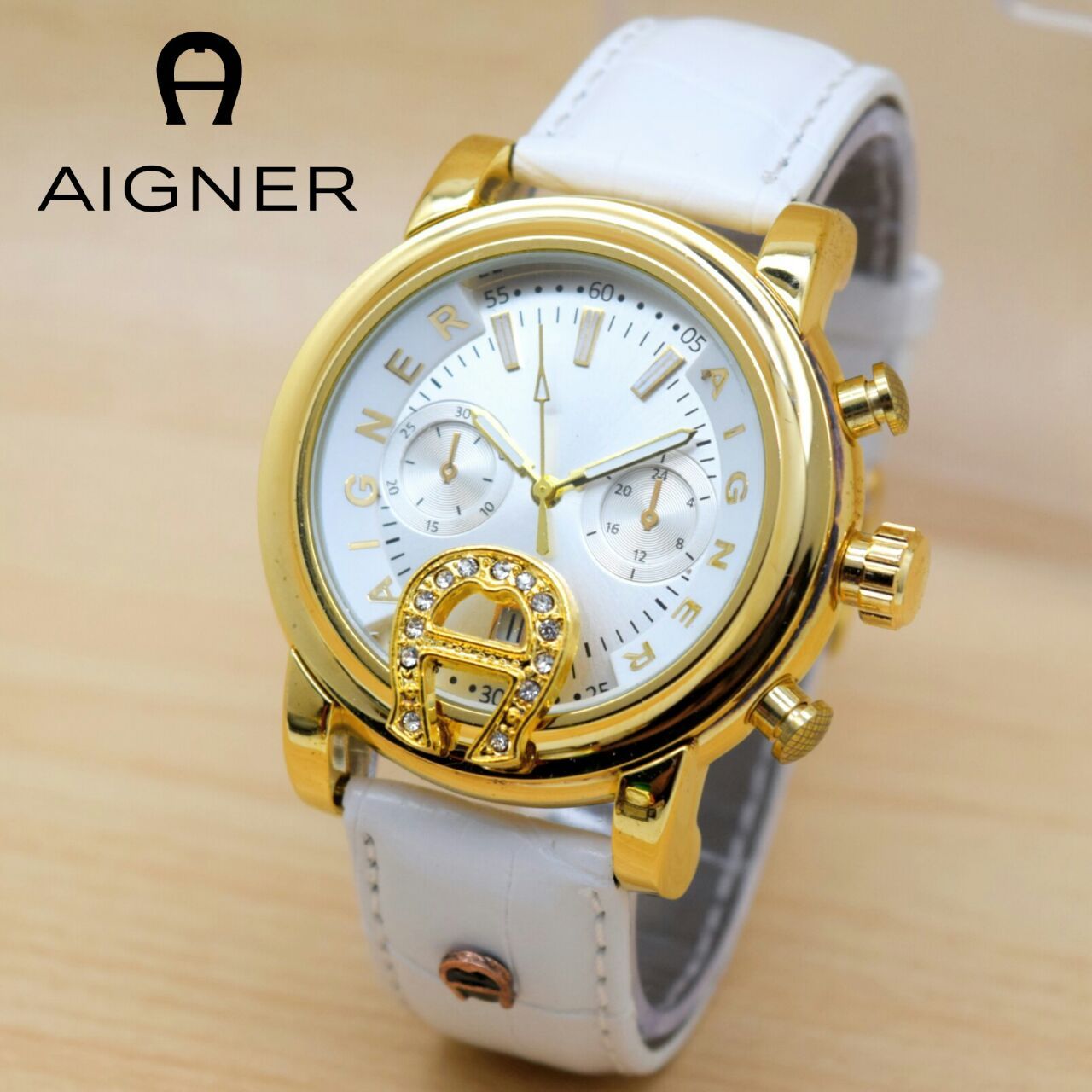 Jual Jam Tangan Aigner 7000000 Welcome To Genua Due A31653 Wanita Blossom Super White Color Aksesoris Mobil