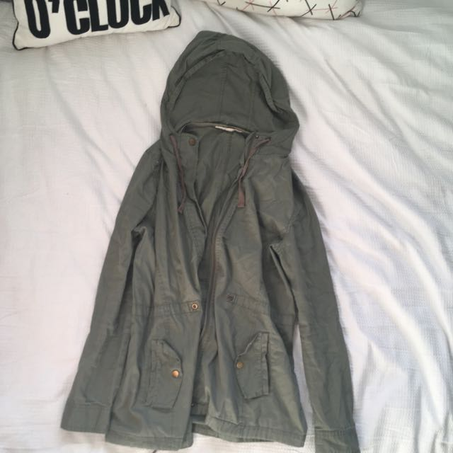 Jay Jays Hooded Green Parker