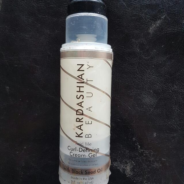 Kardashian  beauty curl defining  cream