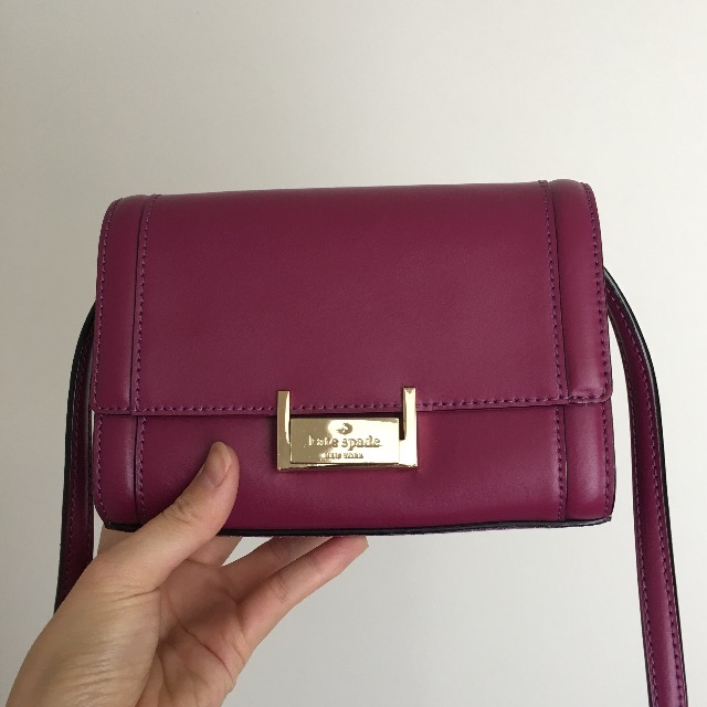 Kate Spade Purple Crossbody Bag