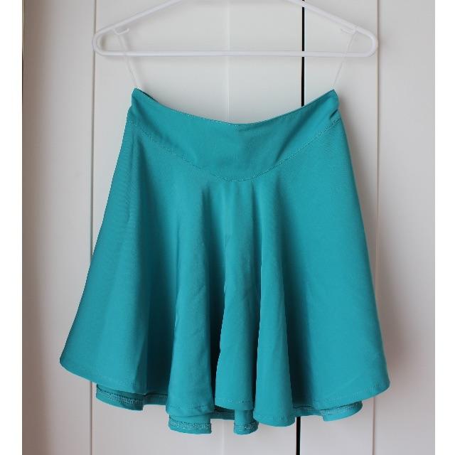 Luvalot Turquoise Skirt