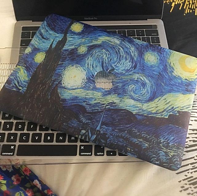 "Macbook Pro 13"" Case Starry Starry Night"