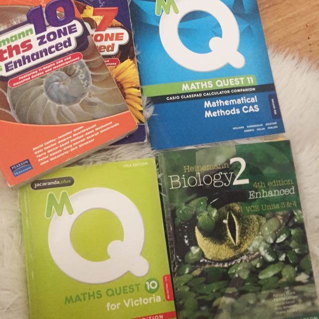 Maths Textbooks- All Levels