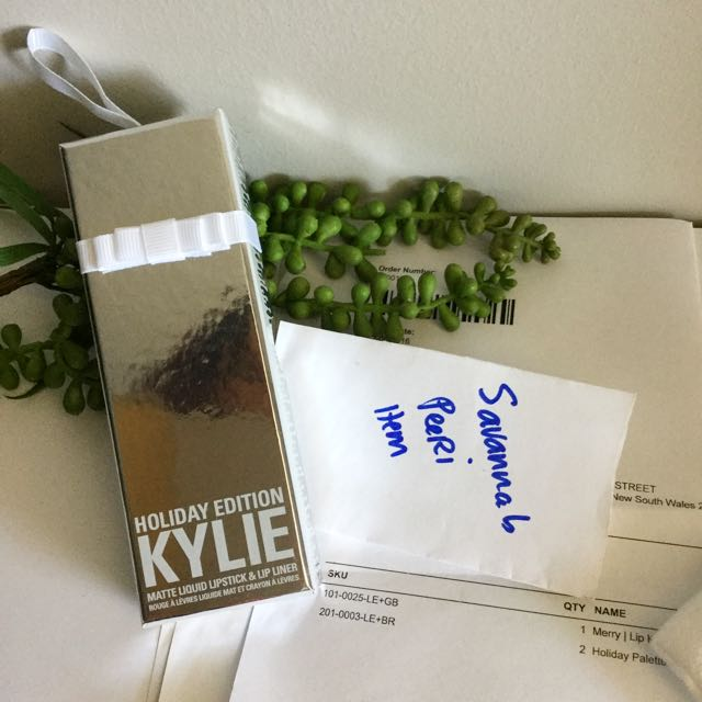 💎Merry LIPKIT- Authentic Kylie Cosmetic