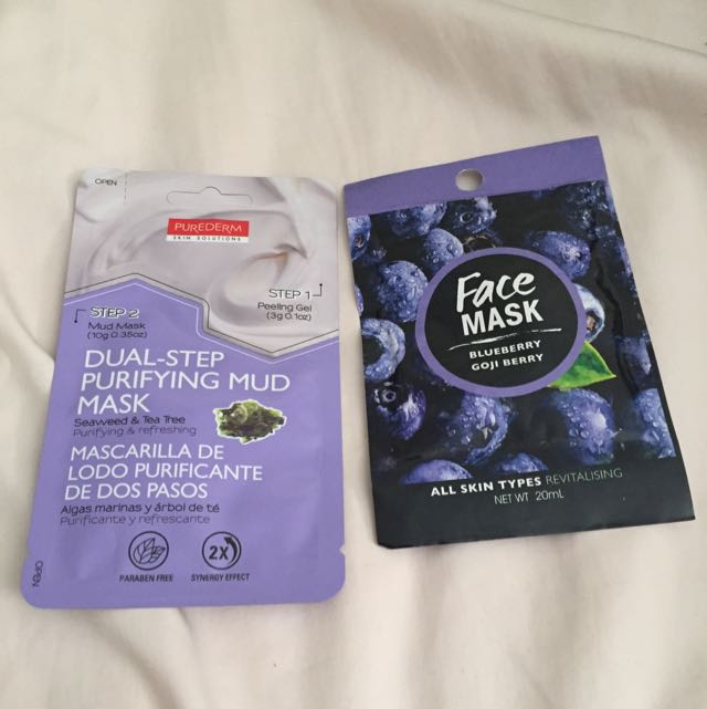 NEW Mud Masks