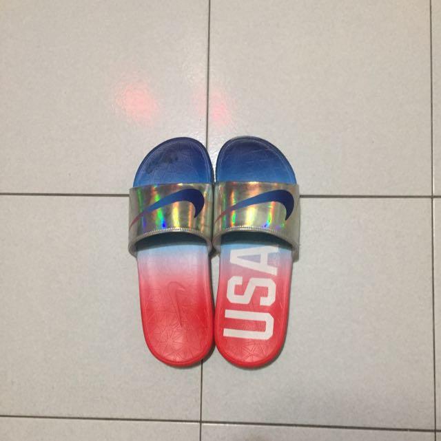 US10✨NIKE 美國隊🇺🇸拖鞋 835553-461
