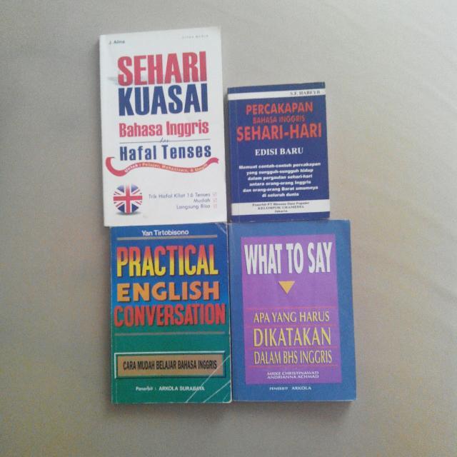 Paket belajar bahasa inggris