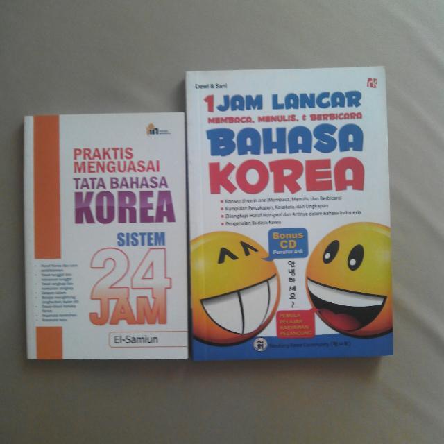 paket belajar bahasa korea