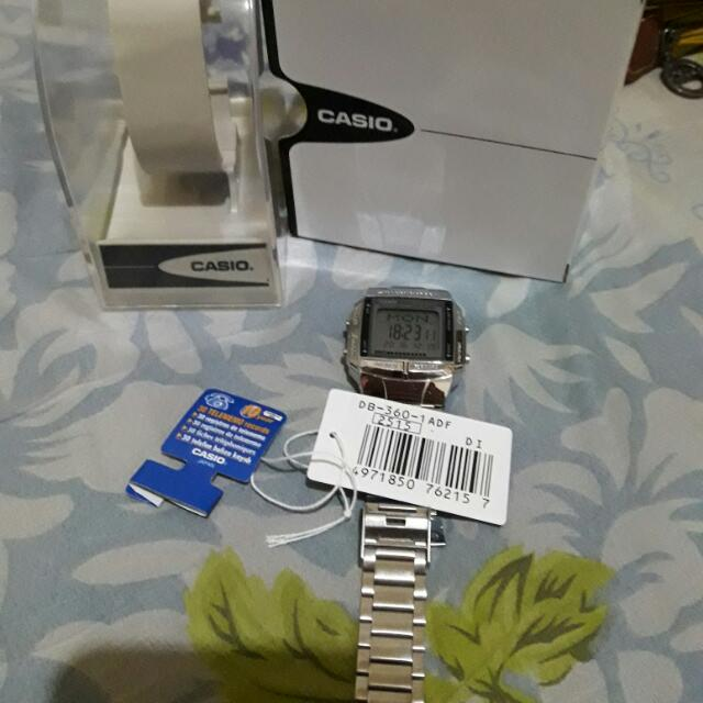 Pre-loved Authentic Casio DB-360