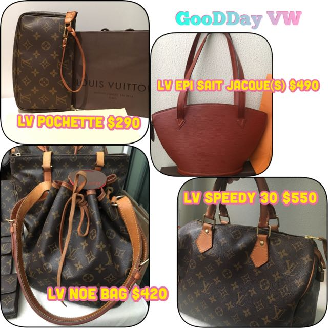 Pre-owned Authentic Louis Vuitton