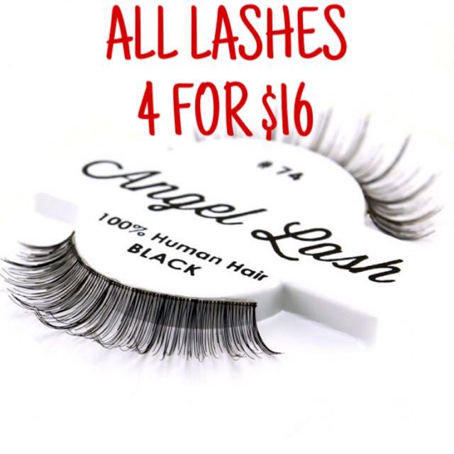 Promo Angel Lash Kara Eyelashes Health Beauty Makeup On Carousell