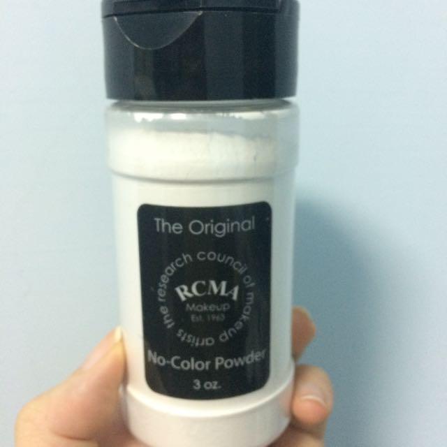 RCMA 透明蜜粉