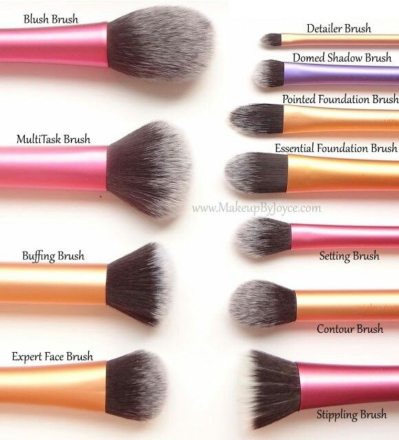 real techniques brushes expert makeup tools set of 4 health beauty makeup on carousell. Black Bedroom Furniture Sets. Home Design Ideas