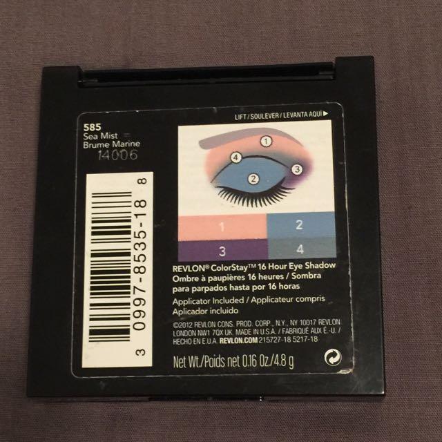 Revlon Eyeshadow - 585 Sea Mist Brume Marie