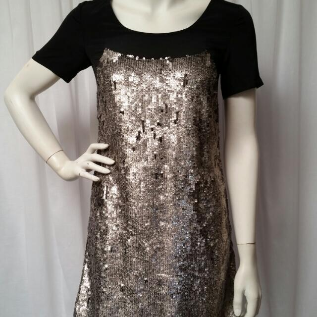 Saba Sequin Tunic Dress