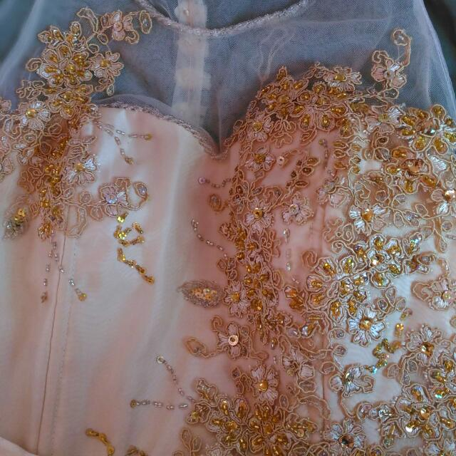 Prom Gown- (Tailor- Made)