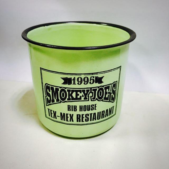 Smokey joe's 冒煙的喬 琺瑯鋼杯