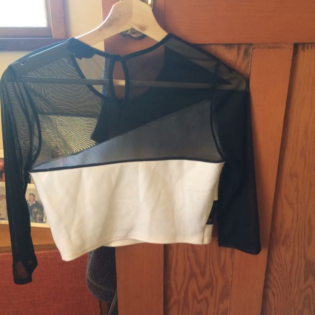 Sport Lux Topshop Crop Top