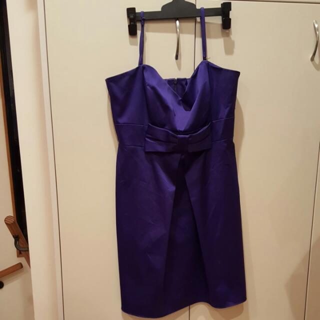 Stacy Size 14 Purple Dress