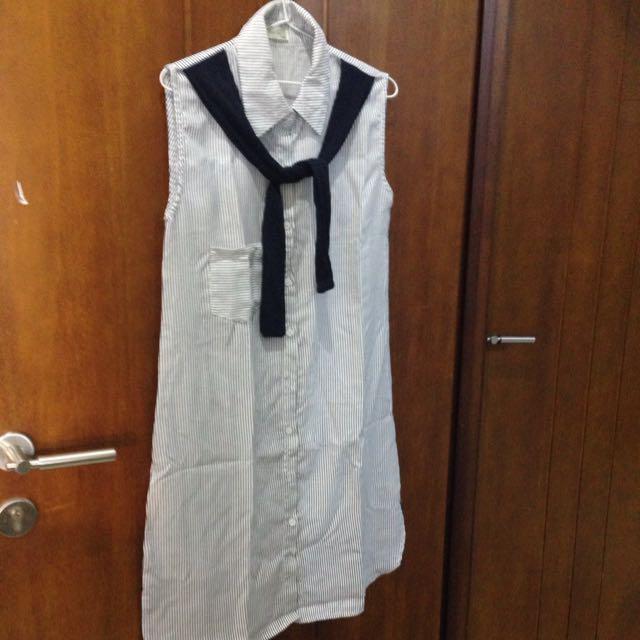 stripe shirt dress sailor