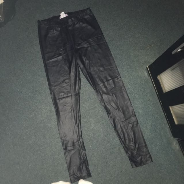 Supre Faux Leather Pants