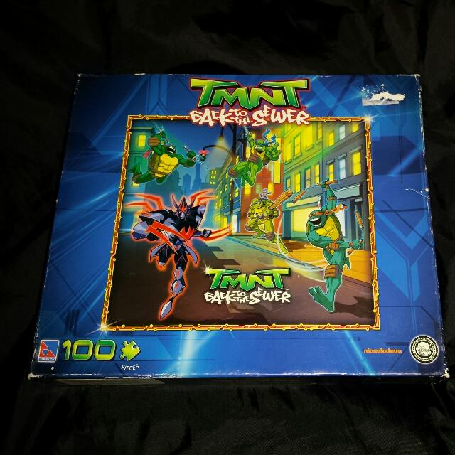 TMNT Back To The Sewer 100PC Puzzle