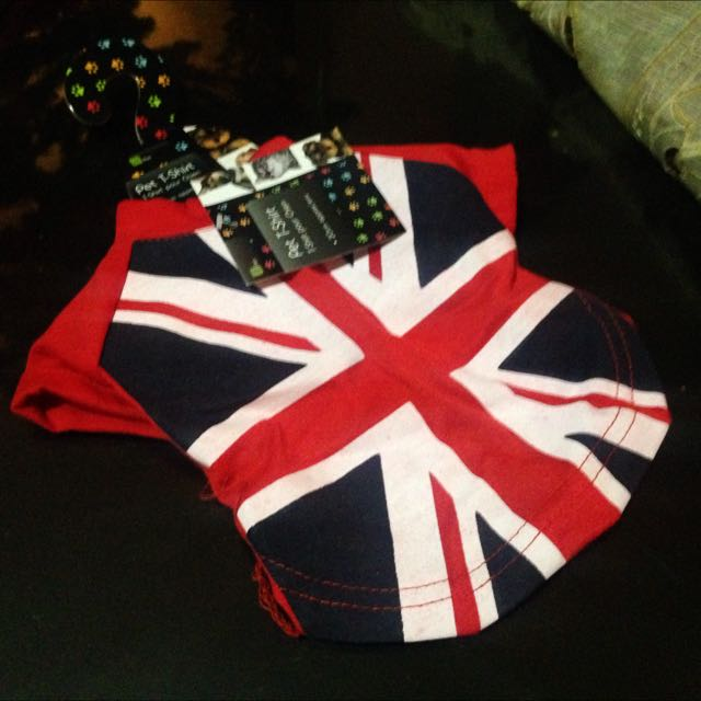 Union Jack UK Pet T-shirt