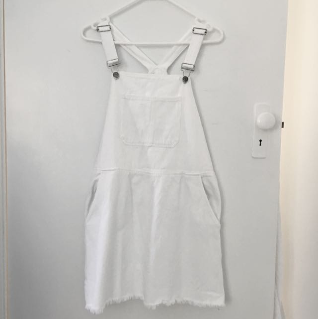 White Overalls/Dungarees UK8/36/AU8