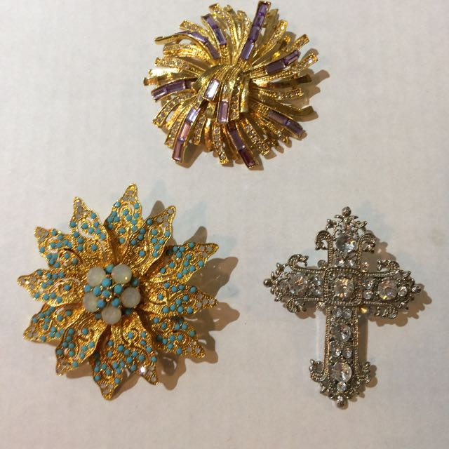 Woman's Brooches