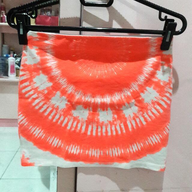 ZARA TRF mini skirt