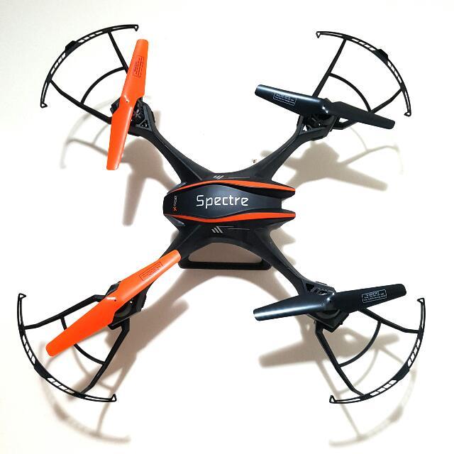 Zero-X Spectre Drone + Extra Battery