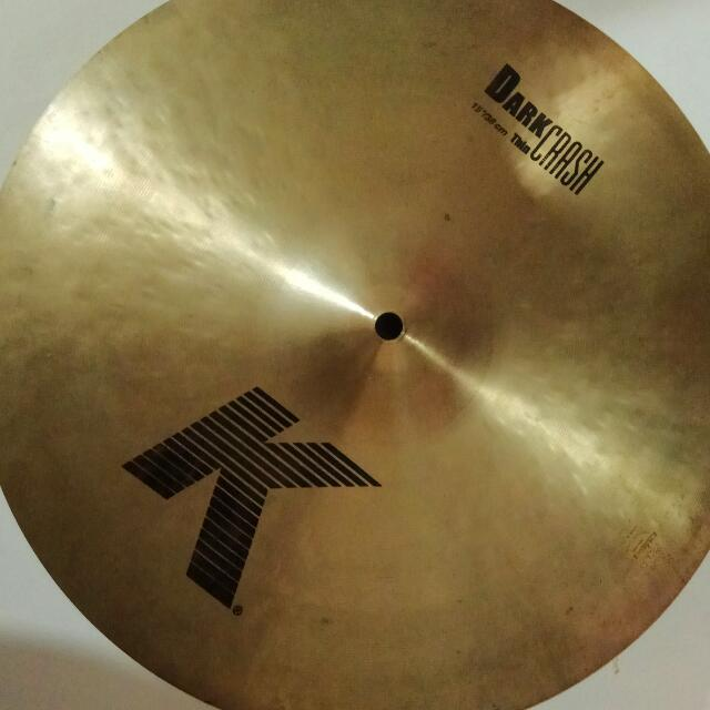 Zildjian K Dark Thin Crash 15
