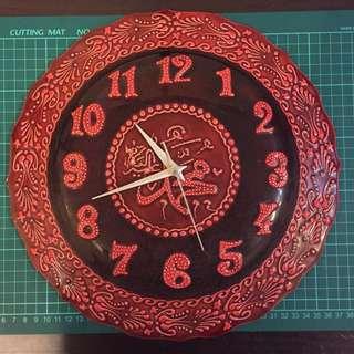 土耳其手工陶瓷掛牆鐘