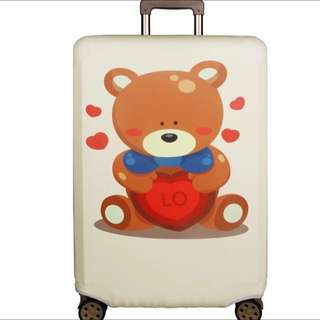 PO Cutie Bear Stretchable Luggage Casing