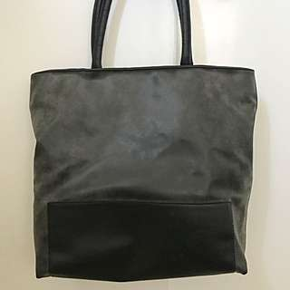 Glassons faux leather tote bag