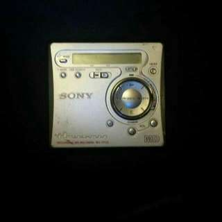 Sony Mini-Disc Player/Recorder