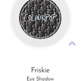 AUTHENTIC FRISKIE EYESHADOW COLOURPOP
