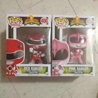 Power Rangers Funko Pop Figures