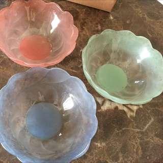 水果盤 沙拉盤 馬可龍色系