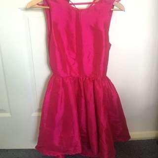 Pink Skater Dress Size 10