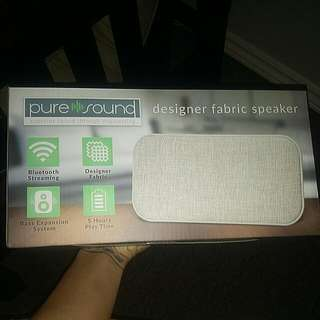 Designer Fabric Bluetooth Speaker