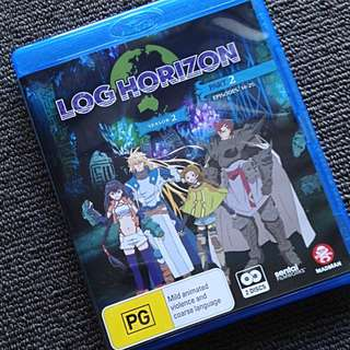 Log Horizon Season 2 Part 2 Anime Blu-ray