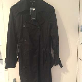Designer Duffel Coat Black