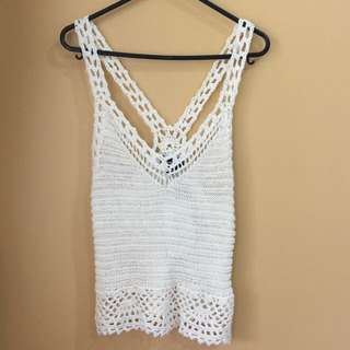 Brand New Summer Knit Top From Valley Girl Size Medium