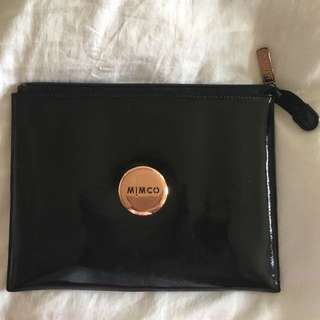 ✨Mimco Black And Rose Gold Clutch/iPad Pouch✨