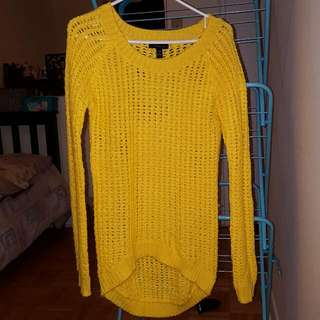 Yellow Sweater Size S