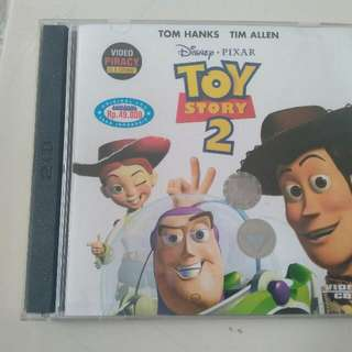 Vcd Toy Story 2